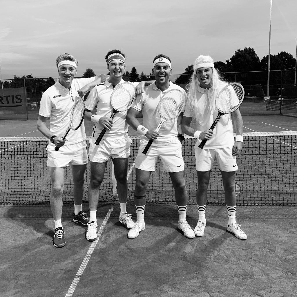 retro tennis vlaanderen